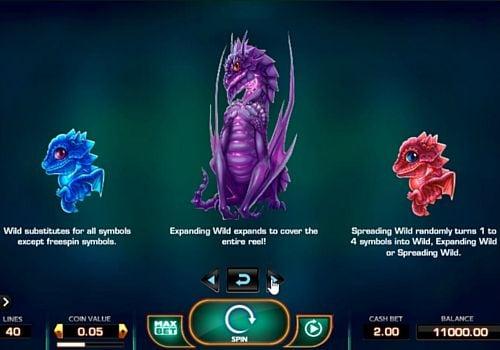 Особенности символов Wild в онлайн слоте Draglings
